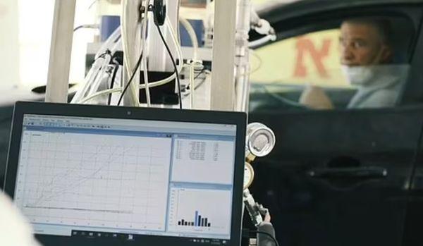 नई जांच की टेस्टिंग गाड़ियों में बैठे लोगों पर की गई। इसका एक फायदा यह भी है कि जांच मरीज खुद कर सकता है और दूर बैठा एक शख्स मॉनिटर पर देखकर बता सकता है कि रिपोर्ट पॉजिटिव है या निगेटिव।