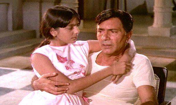 1970 में प्रसारित फिल्म में नीतू सिंह के साथ बलराज साहनी। नीतू सिंह ने इस फिल्म में बाल कलाकार के तौर पर किरदार निभाया था।