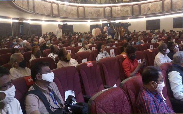 Citizens present at the national seminar.
