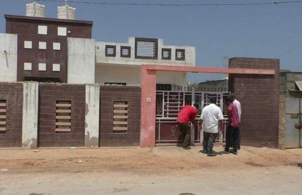 शहर के रुक्मणी नगर में किराए के मकान में रहता था परिवार। (मकान की फाइल फोटो)