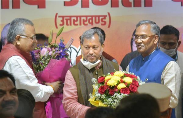 तीरथ सिंह रावत ने 10 मार्च को मुख्यमंत्री की कुर्सी संभाली और 2 जुलाई को इस्तीफा दे दिया।