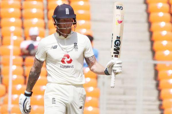 स्टोक्स ने चौथे टेस्ट की पहली पारी में 55 रन बनाए थे।