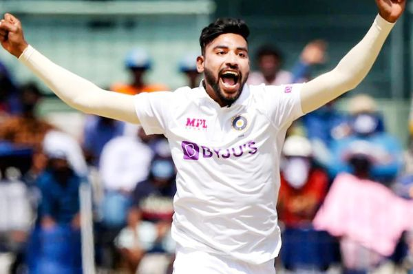 ऑस्ट्रेलिया में टेस्ट सीरीज के दौरान सिराज अच्छे फॉर्म में दिखे।