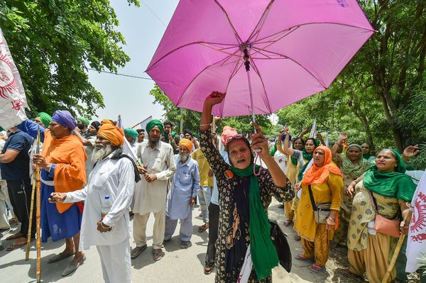 Farmers handed over demand
