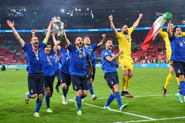 Italian football team is unbeaten from last 34 matches.