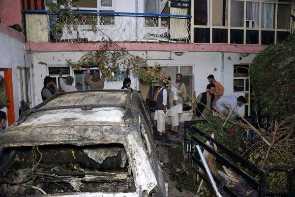29 अगस्त को काबुल एयरपोर्ट के पास स्थित इसी लोकेशन पर अमेरिका ने ड्रोन हमला किया था।