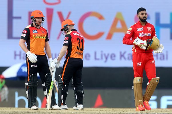 David Warner and Johnny Bairstow gave Hyderabad a great start.