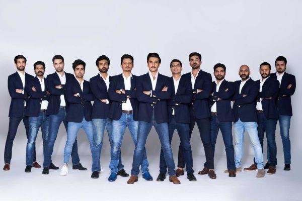 रणवीर सिंह और अन्य अभिनेता '83 . में भारतीय क्रिकेट टीम के सदस्य बने