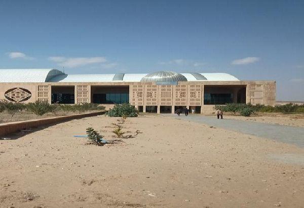 Jaisalmer Airport, where SpiceJet flight could not land.