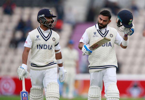 રવિવારે ભારતે 146/3થી રમતને આગળ વધારી હતી. ભારત તરફથી રહાણે અને કોરહલી ક્રીઝ પર હતા. બન્ને પાસે ઘણી આશા હતી.