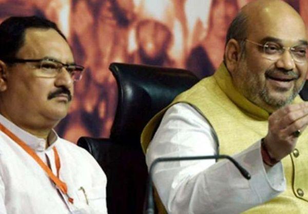 पार्टी के राष्ट्रीय अध्यक्ष जेपी नड्डा और गृह मंत्री अमित शाह दोनों बंगाल में खासे एक्टिव हैं। -फाइल फोटो।