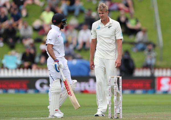 भारत के खिलाफ 2020 में हुए टेस्ट सीरीज के दौरान जेमीसन ने गेंद और बल्ले दोनों से कहर बरपाया था।