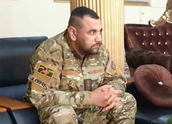 अफगान स्पेशल फोर्सेस के कमांडर सादिक करजई की फोटो टोलो न्यूज ने ट्वीट की है।