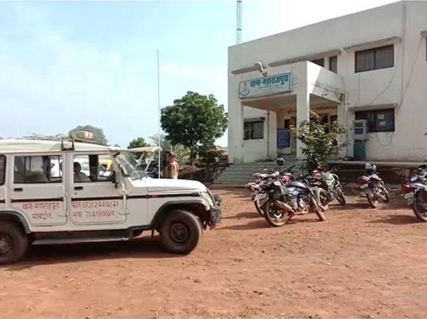 महाराजपुरा थाना यहां हुआ मामला दर्ज, दबिश देने जाती पुलिस