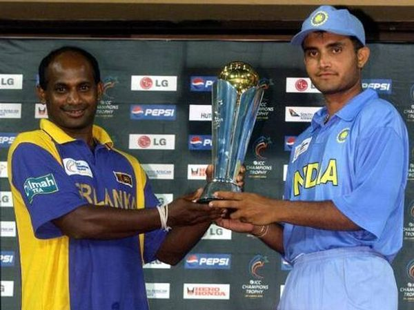 India and Sri Lanka were declared joint winners in the 2002 Champions Trophy.