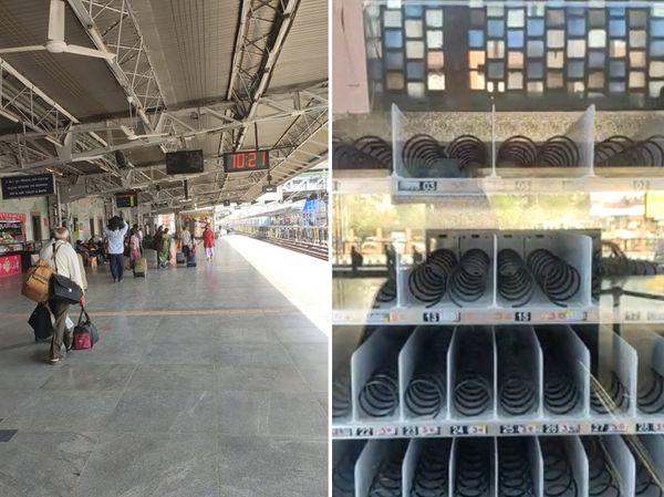 અમદાવાદ રેલવે સ્ટેશનમાં કોરોના ગાઈડલાઈન મુજબ કોઈ વ્યવસ્થા કરવામાં આવી નથી