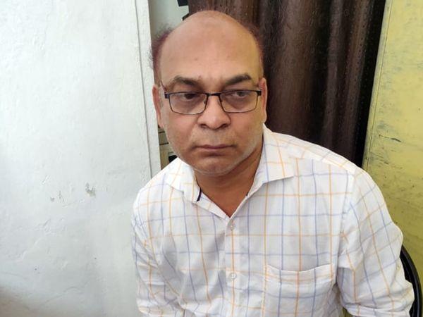 आरोपी अरुण कुमार शंखवार - Dainik Bhaskar