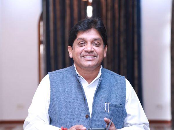 छत्तीसगढ़ के नगरीय निकाय मंत्री शिव डहरिया - Dainik Bhaskar