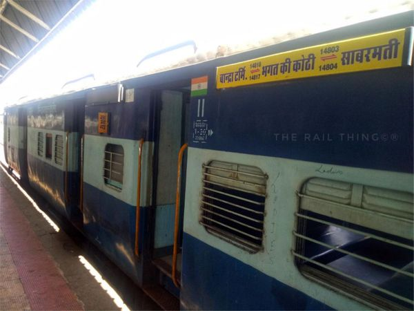 बांद्रा-भगत की कोठी ट्रेन - Dainik Bhaskar