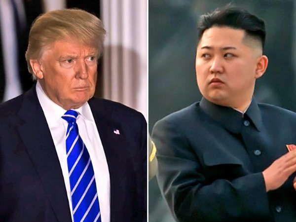 अमेरिकी राष्ट्रपति डोनाल्ड ट्रम्प कह चुके हैं कि अगर उत्तर कोरिया कोई कार्रवाई करता है तो उन्हें आश्चर्य होगा। - Dainik Bhaskar