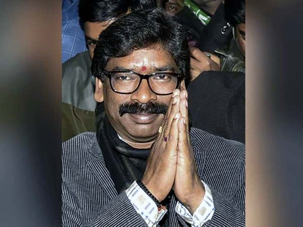गठबंधन के मुख्यमंत्री उम्मीदवार हेमंत सोरेन। (फाइल) - Dainik Bhaskar