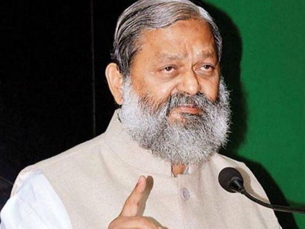 गृह मंत्री अनिल विज । - Dainik Bhaskar