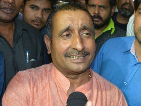 दोषी विधायक कुलदीप सिंह सेंगर वर्तमान में तिहाड़ जेल में है।- फाइल - Dainik Bhaskar