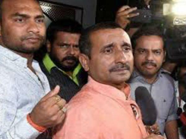 पूर्व विधायक कुलदीप सिंह सेंगर तिहाड़ जेल में उम्रकैद की सजा काट रहा है। -फाइल - Dainik Bhaskar