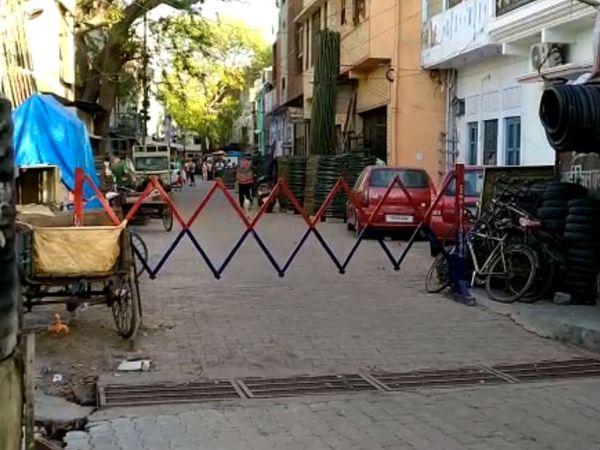 लखनऊ के कसाईबाड़ा में आकर ठहरे 12 जमातियों का टेस्ट पॉजिटिव आया है। ऐहतियातन प्रशासन ने पूरे इलाके को सील कर दिया है। - Dainik Bhaskar