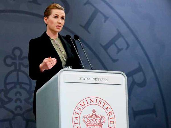 डेनमार्क की प्रधानमंत्री मेटे फ्रेडरिकसेन ने पाबंदियों में ढील देने का ऐलान किया।