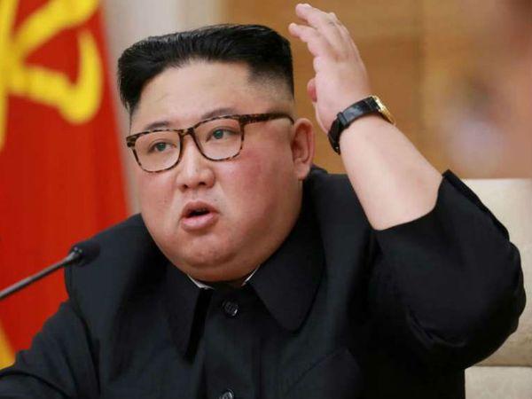उत्तर कोरिया के तानाशाह किम जोंग उन के स्वास्थ्य को लेकर कई तरह के कयास लगाए जा रहे हैं। 12 अप्रैल को उनकी सर्जरी के बाद से ही उनके स्वास्थ्य को लेकर स्थिति साफ नहीं हो पा रही। - Dainik Bhaskar