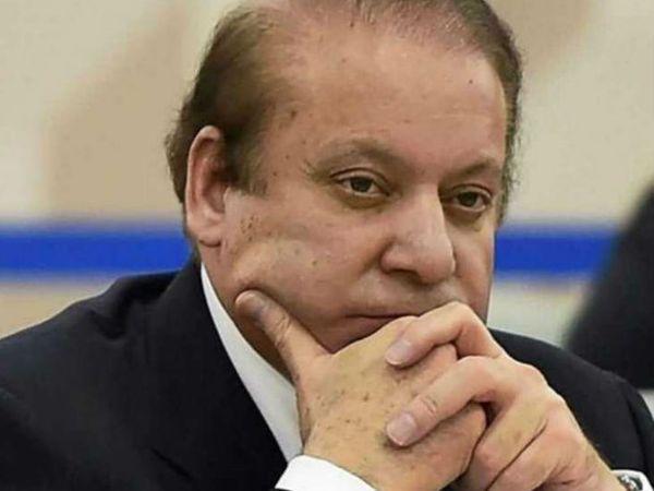 पाकिस्तान के पूर्व प्रधानमंत्री नवाज शरीफ। (फाइल) - Dainik Bhaskar