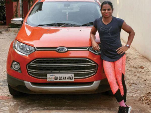 मूलत: ओडिशा की रहने वाली 24 साल की दुती ने कहा कि एथलीट लगातार पांच दिन ट्रेनिंग करना छोड़ दे तो वह फिर से शून्य पर आ जाता है। - Dainik Bhaskar