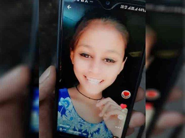 मृतक बच्ची यमुनानगर के विष्णु नगर की रहने वाली थी। वह टिकटॉक पर हररोज वीडियो अपलोड करती थी। - Dainik Bhaskar