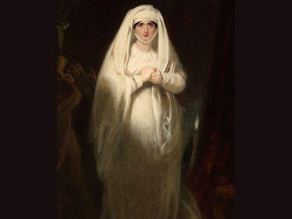 लेडी मैकबेथ के रूप में सारा सिडन्स का पोर्ट्रेट 18वीं शताब्दी की एक्ट्रेसेज के लिए प्रेग्नेंसी के दौरान भी काम करना मुश्किल नहीं था। सारा सिडन्स अपने समय की मशहूर अदाकारा थीं। यह तस्वीर 1814 में जीएच हार्लो ने सारा के 1812 में रिटायरमेंट के बाद बनाई थी। इस तस्वीर में वे लेडी मैकबेथ की तरह नजर आ रही हैं। लेडी मैकबेथ, सारा का काफी फेमस रोल था। हर्न बताती हैं कि थियेटर मैनेजर चाहते थे कि सिडन ज्यादा से ज्यादा परफॉर्म करें और वे इसे खुशी से करती भी थीं।