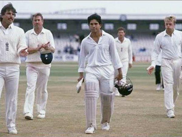 सचिन तेंदुलकर ने अपने अंतरराष्ट्रीय करियर का पहला शतक भी इंग्लैंड के खिलाफ लगाया था। उन्होंने यह सेंचुरी 17 साल की उम्र में लगाई थी। - Dainik Bhaskar
