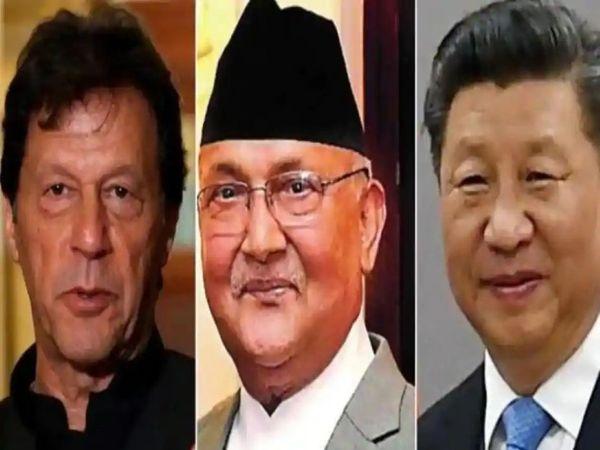 नेपाल को पाकिस्तान की ओर से बातचीत की पेशकश ऐसे समय की गई है, जब लद्दाख में भारत और चीन की सेनाएं आमने-सामने हैं। - Dainik Bhaskar