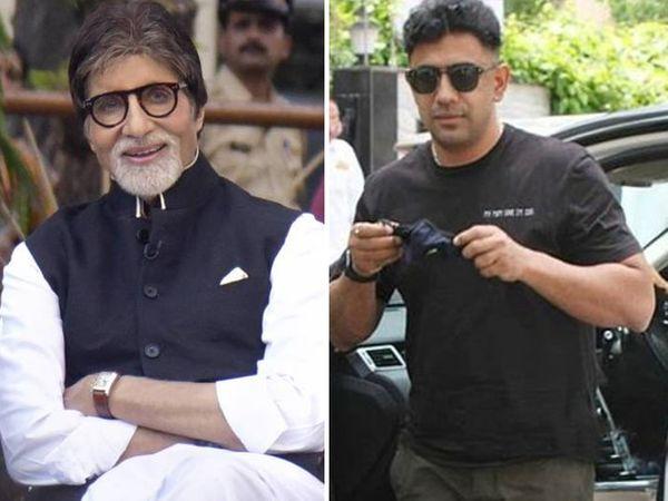 अमिताभ बच्चन और उनके बेटे अभिषेक शनिवार से नानावटी हॉस्पिटल में भर्ती हैं। अभिषेक के पॉजिटिव आने के बाद रविवार को उनके को-एक्टर अमित साध ने कोविड टेस्ट कराया था। - Dainik Bhaskar