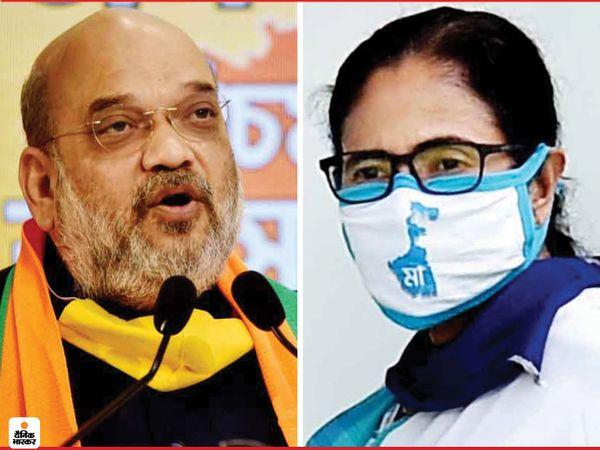 पश्चिम बंगाल में अगले साल विधानसभा के चुनाव होने हैं। भाजपा और टीएमसी में कांटे की टक्कर देखने को मिल सकती है। दोनों दलों ने चुनाव को लेकर अभी से तैयारियां शुरू कर दी है। - Dainik Bhaskar