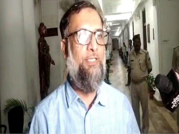 गृह विभाग के अपर मुख्य सचिव आमिर सुबहानी। - Dainik Bhaskar