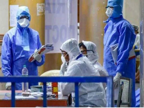 यूपी के कानपुर में पिछले 24 घंटों में पांच लोगों की मौत हो गई। - Dainik Bhaskar