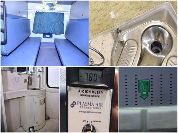 भारतीय रेलवे का मानना है कि इन कोचों में दी जाने वाली सुविधाएं यात्रियों के विश्वास को बढ़ाकर अधिक मजबूत बनाएंगी - Dainik Bhaskar