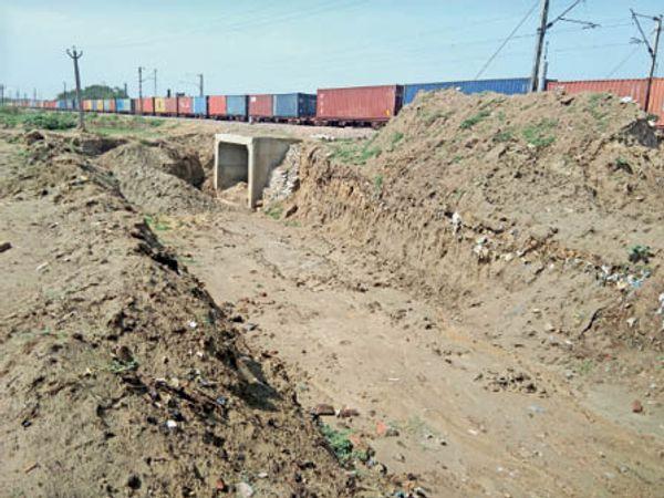 सोनीपत. दिल्ली-चंडीगढ़ रुट जिस पर आरयूबी का निर्माण कार्य होना है। - Dainik Bhaskar