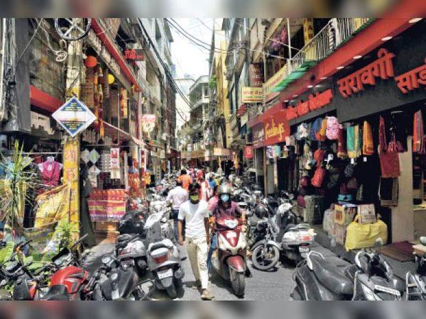 रंगरेज गली अपर बाजार, रांची - Dainik Bhaskar