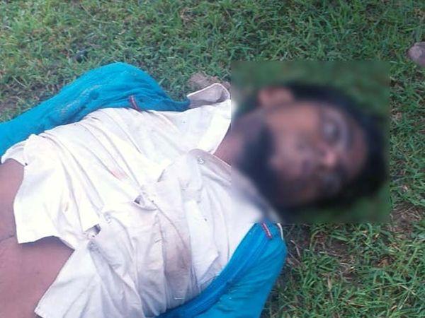 युवक की नदी में बहने से मौत हो गई। - Dainik Bhaskar
