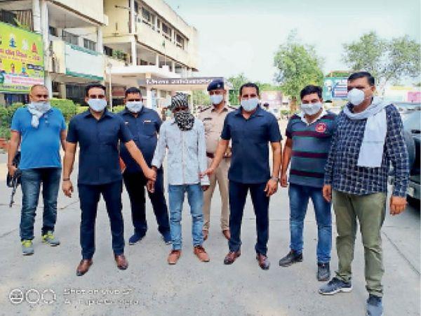 यमुनानगर| कारोबारी की पत्नी पर हमला करने का आरोपी पुलिस गिरफ्त में। - Dainik Bhaskar