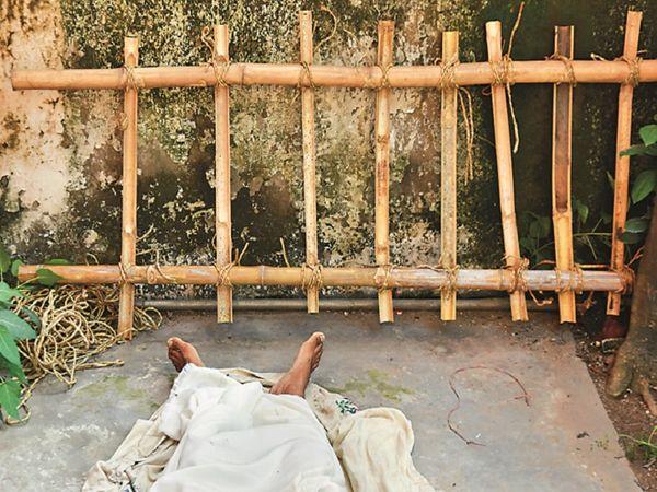 हादसा समझकर संस्कार करने की कर ली थी तैयारी। फोटो: जसविंदर सिंह - Dainik Bhaskar