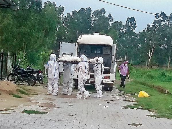 डेराबस्सी ब्लॉक में कोरोना संक्रमण से हुई पहली मौत। - Dainik Bhaskar