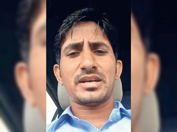 चौरासी विधायक राजकुमार रोत। - Dainik Bhaskar