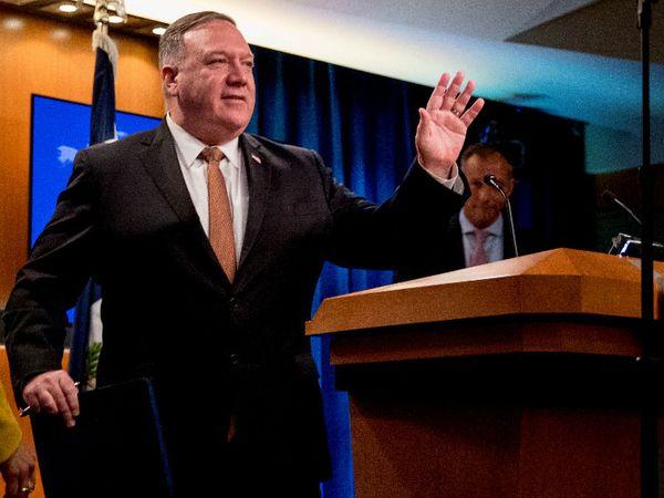 अमेरिकी विदेश मंत्री माइक पोम्पियो ने कहा- लोकतांत्रिक देश चीन को पूरी ताकत से जवाब देंगे। - Dainik Bhaskar